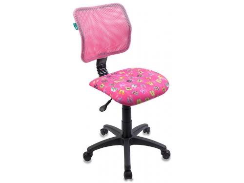 Компьютерное кресло Бюрократ ch-295/pk/flipflop, розовое, вид 1