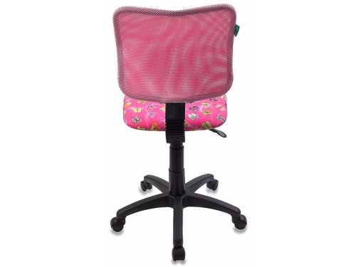 Компьютерное кресло Бюрократ ch-295/pk/flipflop, розовое, вид 2
