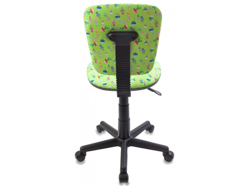 Компьютерное кресло Бюрократ CH-204NX/CACTUS, зеленое, вид 2