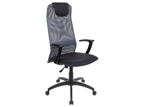 Компьютерное кресло Бюрократ KB-8 DG TW-12 серое, вид 1