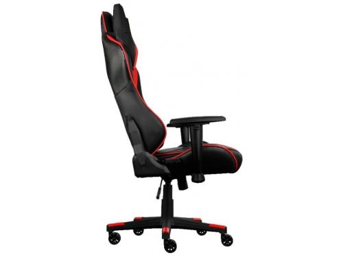Игровое компьютерное кресло Aerocool AC220 AIR-BR с перфорацией, черно-красное, вид 2