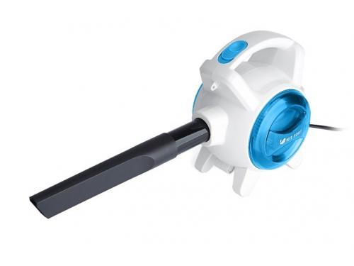 Пылесос Kitfort KT-526-1, синий/белый, вид 3