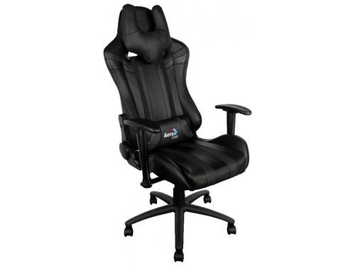 Игровое компьютерное кресло Aerocool AC120 AIR-B, черное, вид 1