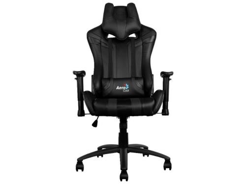 Игровое компьютерное кресло Aerocool AC120 AIR-B, черное, вид 2