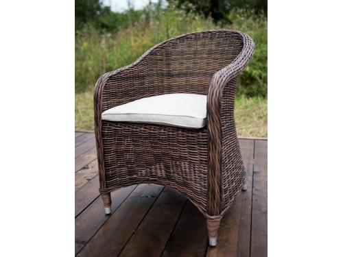 Кресло садовое 4sis Равенна темно-коричневое, вид 1