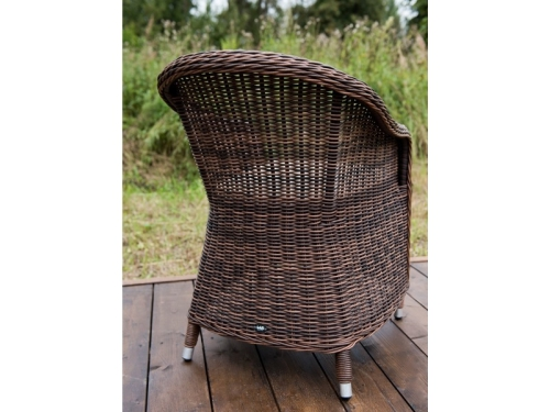Кресло садовое 4sis Равенна темно-коричневое, вид 2
