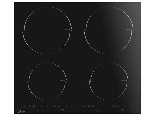 Варочная поверхность Fornelli PIA 60 Induzione, черная, вид 1