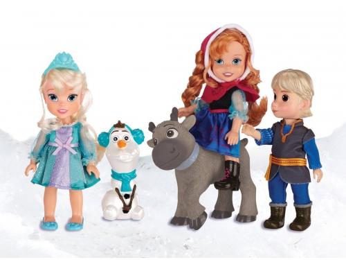 Набор игровой Disney  Холодное Сердце Принцессы Дисней  (5 кукол, 15 см), вид 1