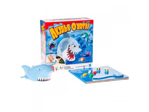 Настольная игра Hasbro Games, Акулья Охота, с аксессуарами, вид 3