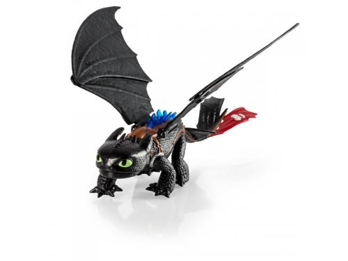 Набор игровой Spin Master Dragons Большой Беззубик, с аксессуарами, вид 1