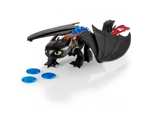 Набор игровой Spin Master Dragons Большой Беззубик, с аксессуарами, вид 3