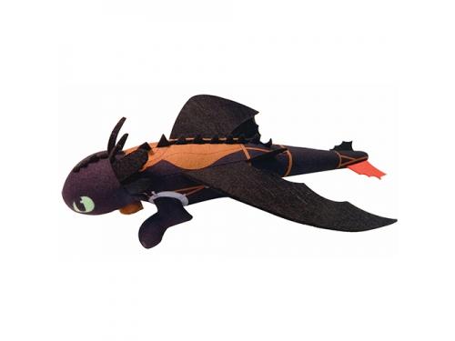 Игрушка мягкая Spin Master Dragons Беззубик плюшевый 25 см, запускается и летит, вид 1