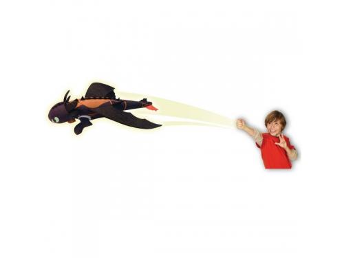 Игрушка мягкая Spin Master Dragons Беззубик плюшевый 25 см, запускается и летит, вид 2