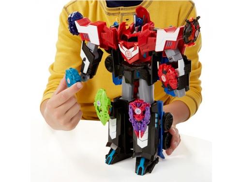 Товар для детей HASBRO TRANSFORMERS  Robots in Disguise Mega Optimus Prime, вид 3