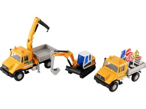 Товар для детей Welly набор машин Строительная техника (20 шт), вид 1