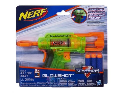 Товар для детей Hasbro nerf бластер элит глоушот, разноцветный, вид 2