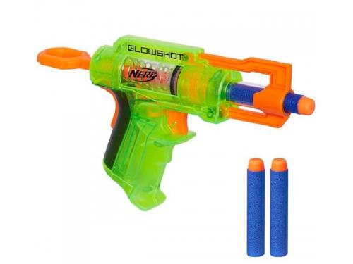 Товар для детей Hasbro nerf бластер элит глоушот, разноцветный, вид 1