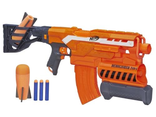 Товар для детей Hasbro nerf бластер элит разрушитель, разноцветный, вид 1