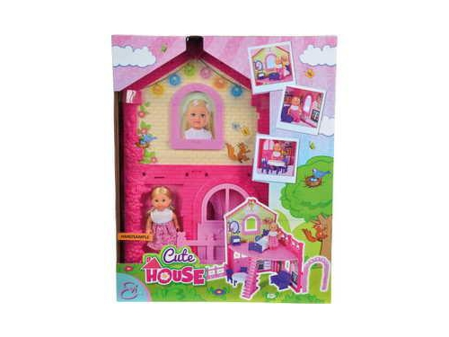 Кукла Simba Еви в двухэтажном доме, с аксессуарами, вид 2