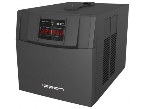 Стабилизатор напряжения Ippon AVR-3000, черный, вид 1