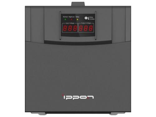 Стабилизатор напряжения Ippon AVR-3000, черный, вид 2