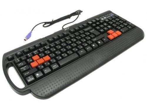 Клавиатура A4Tech X7-G700 Black PS/2, вид 4