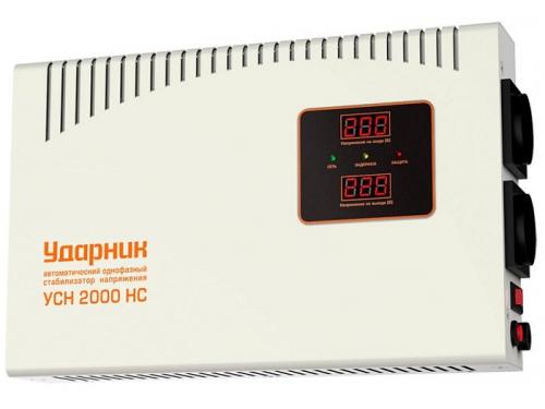Стабилизатор напряжения Ударник УСН 2000 HC (релейный), вид 1