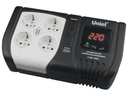 Стабилизатор напряжения Uniel U-ARS-1000/1 (релейный), вид 1