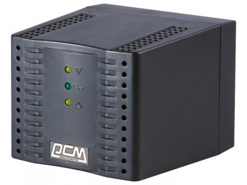Стабилизатор напряжения Powercom TCA-2000, черный, вид 1