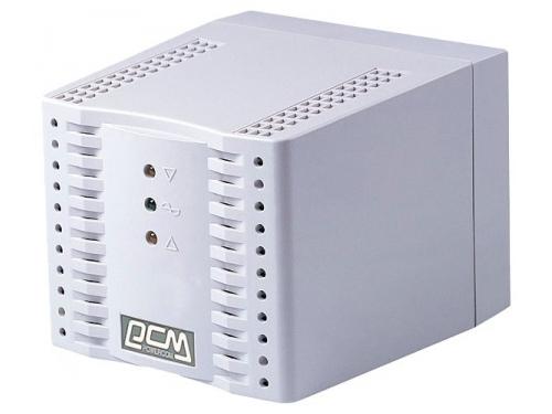 Стабилизатор напряжения Powercom TCA-1200,  белый, вид 1