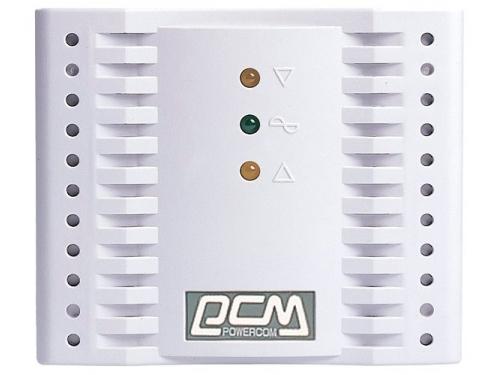 Стабилизатор напряжения Powercom TCA-1200,  белый, вид 2