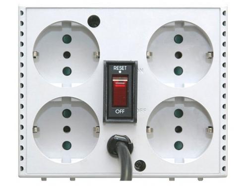 Стабилизатор напряжения Powercom TCA-1200,  белый, вид 3