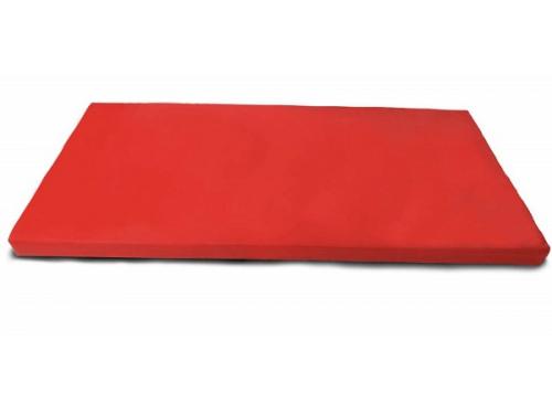 Мат гимнастический Мат № 9 (100 х 150 х 10) красно/жёлтый, вид 1