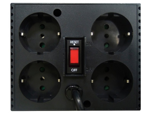 Стабилизатор напряжения Powercom TCA-3000-BLACK 3000VA черный, вид 3