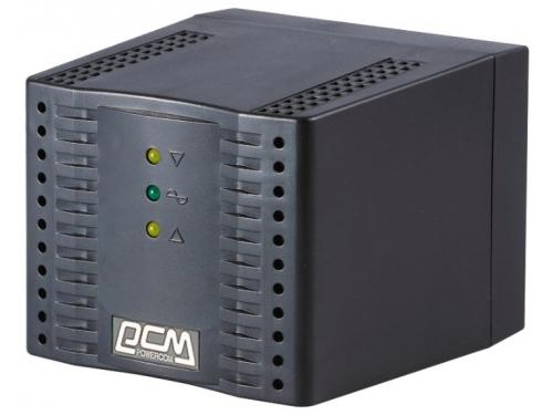 Стабилизатор напряжения Powercom TCA-3000-BLACK 3000VA черный, вид 1
