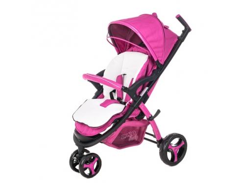 Коляска Liko Baby BT-1218, розовая, вид 2