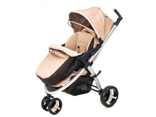 Коляска Liko Baby BT-1218, розовая, вид 11