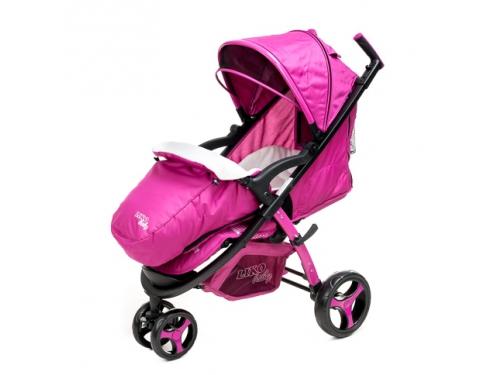 Коляска Liko Baby BT-1218, розовая, вид 18