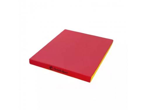 Мат гимнастический Perfetto Sport № 2, красно-жёлтый, вид 1