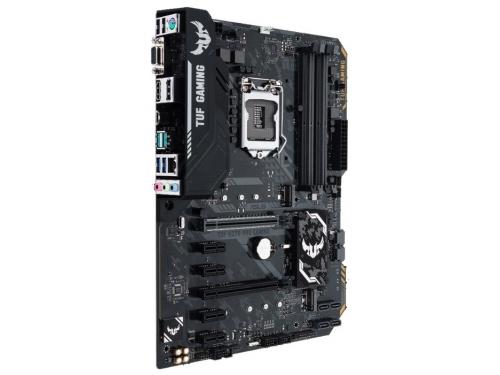 Материнская плата Asus Tuf H370-Pro Gaming Soc-1151, DDR4, ATX, SATA3, LAN-Gbt, USB 3.1, вид 2