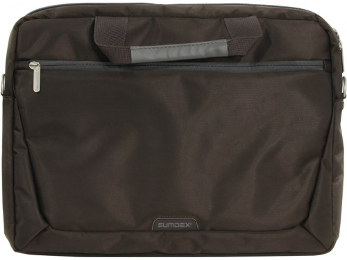 Сумка для ноутбука Sumdex PON-111BR, коричневая, вид 1