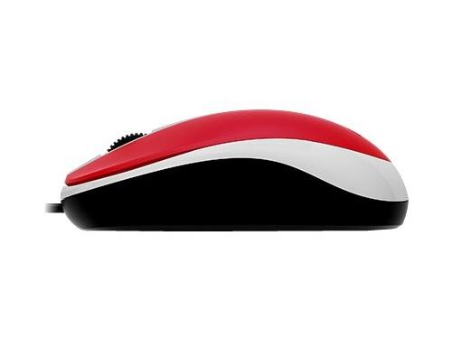 Мышь Genius DX-120 USB, красная, вид 3