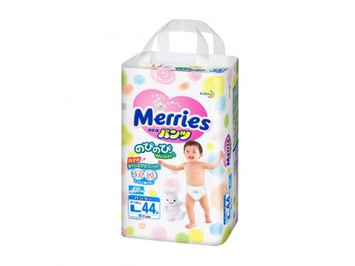 Подгузник Merries  9-14 кг (44 шт) L, трусики, вид 2