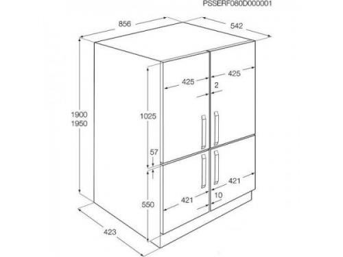 Холодильник Zanussi ZBB47460DA, белый, вид 2