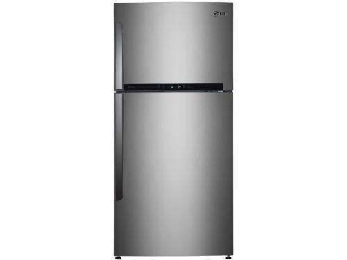 Холодильник LG GC-M502HMHL серебристый, вид 1