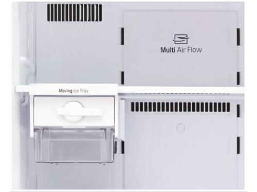 Холодильник LG GC-M502HMHL серебристый, вид 4