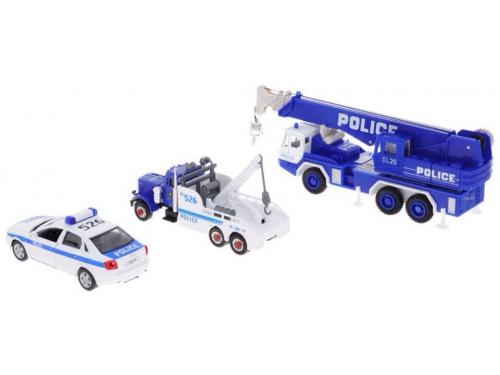 Товар для детей Welly набор машин Полиция, 10 шт., вид 2