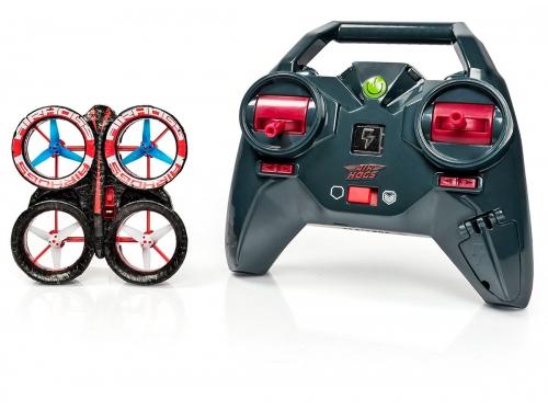 Радиоуправляемая модель Spin Master Air Hogs мини квадрокоптер, черная / красная, вид 1