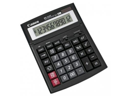 Калькулятор Canon WS-1210T 12-разрядный, чёрный, вид 1