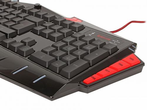 Клавиатура Defender Redragon Asura RU (USB), чёрная, вид 4